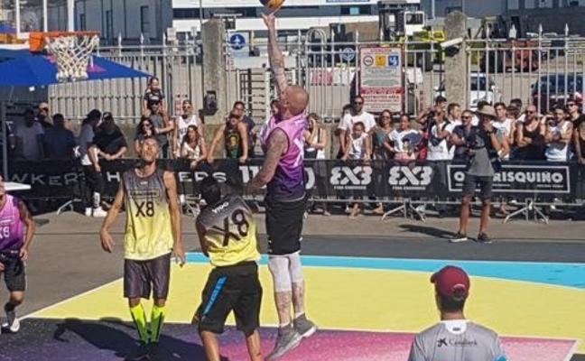 El Baloncesto Gijón 3x3 conquista el torneo de Vigo