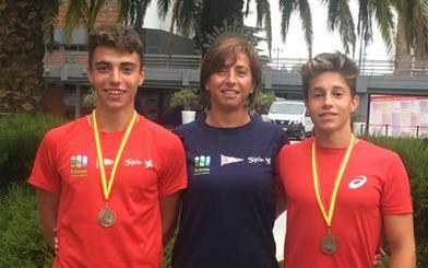 Los palistas logran dos títulos en el Campeonato de España de Maratón