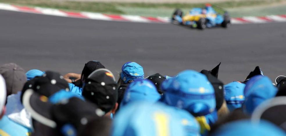 Así anunció el piloto asturiano que deja la Fórmula Uno