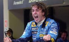 La trayectoria deportiva de Fernando Alonso, en imágenes