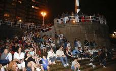 ¿Estuviste en la Noche de Fuegos de Gijón? ¡Búscate!