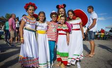 Diversión y color en el carnaval infantil de Luanco