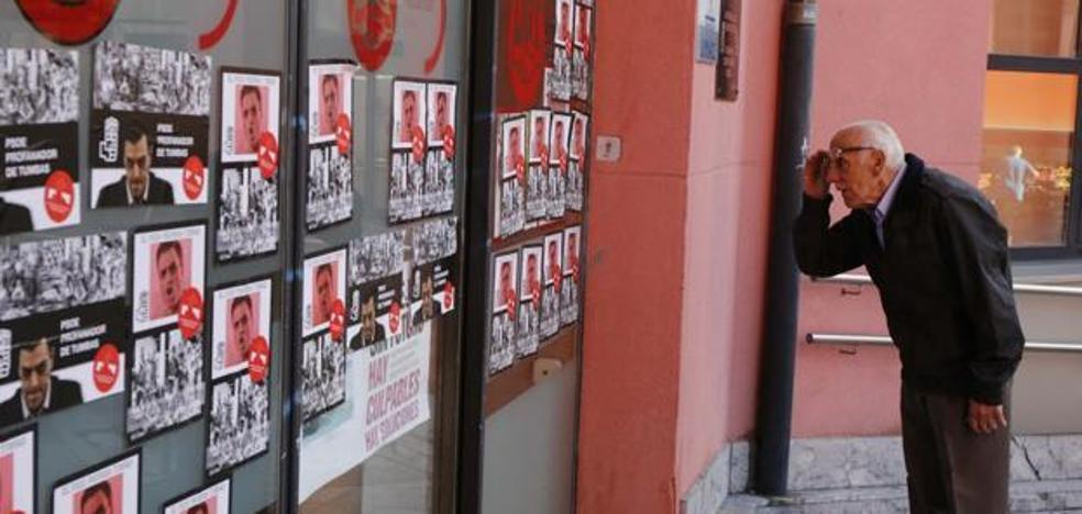 Asturias aprobará una ley que multa la exhibición de cualquier símbolo del franquismo