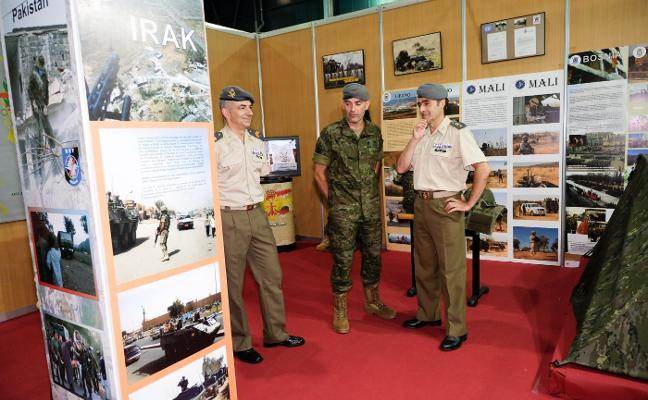 «El servicio de nuestro regimiento en zonas como Líbano o Mali es ejemplar»