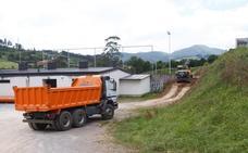 Obras en el campo de La Luz para evitar las inundaciones