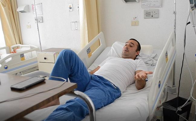 El minero lenense herido en el accidente aéreo de México llega a Asturias el día 24