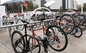 Aparcamiento vigilado y entrada gratuita para quienes lleguen en bicicleta