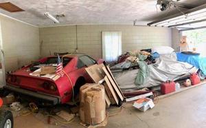 Encuentra medio millón de euros en coches en el garaje abandonado de su abuela