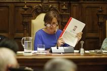 Pleno del Ayuntamiento de Gijón sobre el 'caso Enredadera'