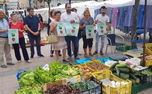 La 'Feria de la huerta' de Pravia permitirá a los expositores vender sus productos