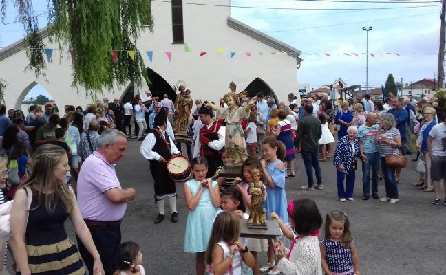 Ranón concluye hoy sus fiestas de San Roque
