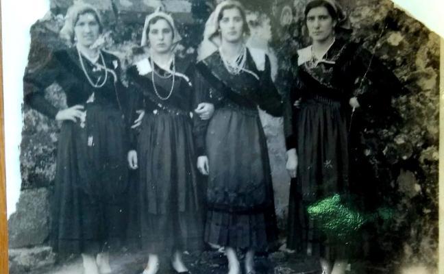 Así era la vestimenta tradicional de Cabranes