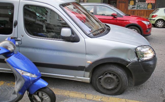 Colisión de dos vehículos en Pablo Iglesias