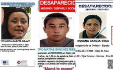 SOS Desaparecidos tiene activadas trece alertas en Asturias