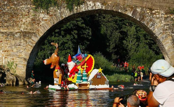 El descenso folclórico desborda el Nalón