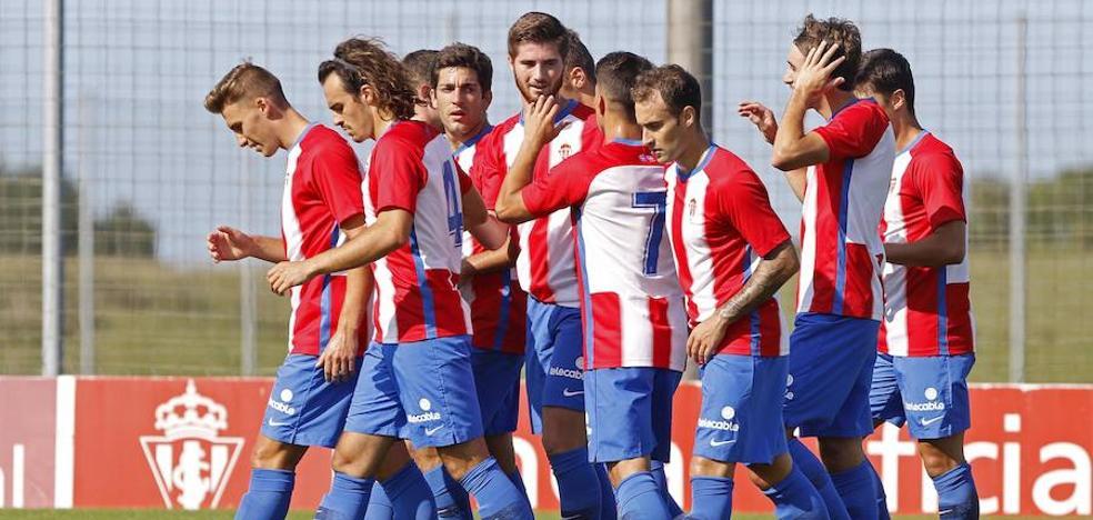 El Sporting B supera al Covadonga y pasa a semifinales