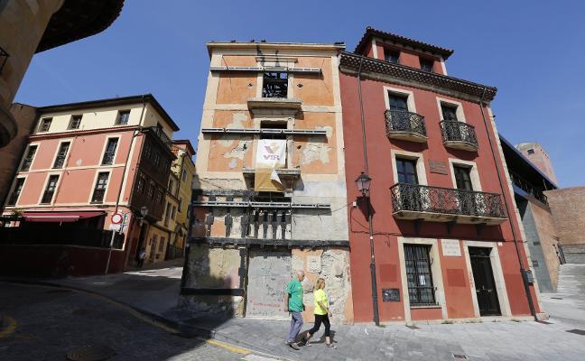 El centro y El Natahoyo concentran junto a Cimavilla la mayoría de los inmuebles en ruinas