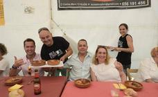 La gran fabada de Fontaciera congrega a 300 personas
