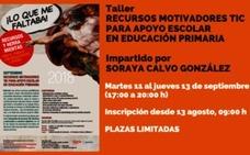 Juventud Gijón organiza el taller «Recursos motivadores TIC para apoyo escolar en educación primaria»