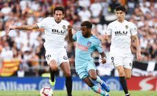 Las mejores imágenes del Valencia-Atlético