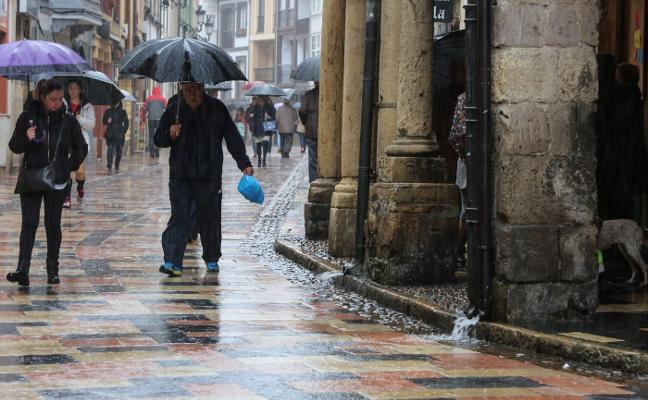 Avilés, entre las ciudades de España con más lluvia en el inicio del mes de agosto
