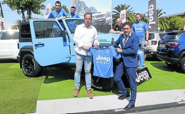 Acuerdo de patrocinio entre el Cova y Jeep