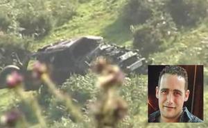Un vecino de Lugones fallece al caer con su todoterreno por una pista forestal en Proaza