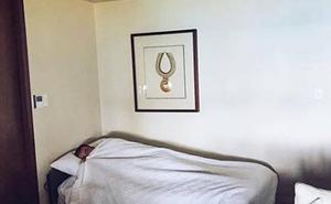 Jorge Javier Vázquez muestra en Instagram lo que encontró en su habitación de hotel