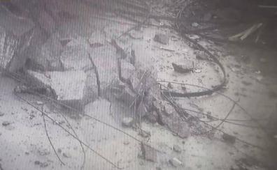 El nuevo e impactante vídeo del derrumbe del puente Morandi en Génova