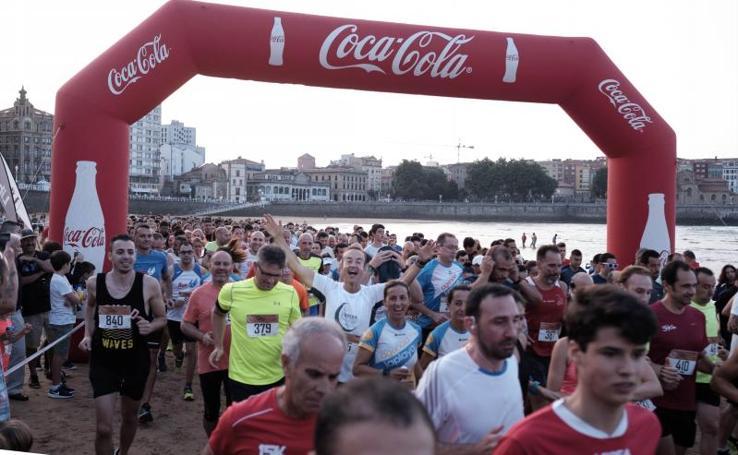 Más de mil participantes en la carrera nocturna en San Lorenzo