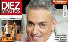 Kiko Hernández, de cena con una amiga especial
