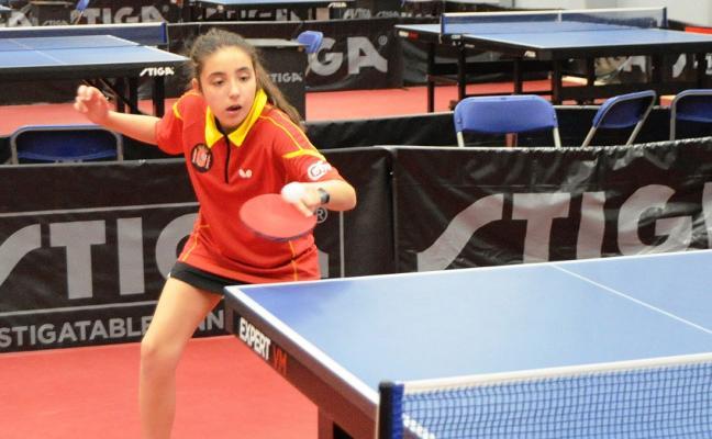 Carla Sánchez, en la 'Euro Mini Champ'