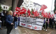 Los sindicatos rechazan una subida salarial del 5% en cuatro años para los trabajadores de la limpieza