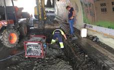 Una nueva avería en la red deja sin agua a los vecinos de Trasona y Santa Cruz