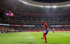 Griezmann y Oblak evitan el mal de altura del Atlético