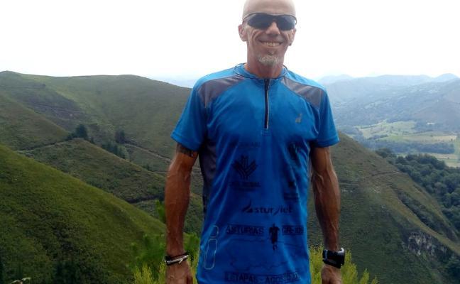 Pedro Cuenca culminará hoy su reto asturiano