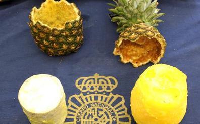 Intervenidos 67 kilos de cocaína en el interior de piñas huecas en MercaMadrid
