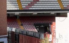 El estadio del Rayo, cerrado hasta mediados de octubre