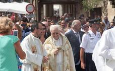 El Padre Ángel evoca al Avilés más solidario en la Misa de San Agustín