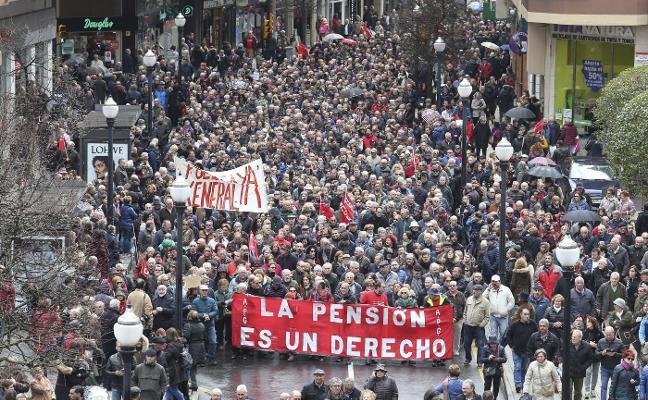 El gasto en pensiones se incrementa un 4% en Asturias con la nueva revalorización