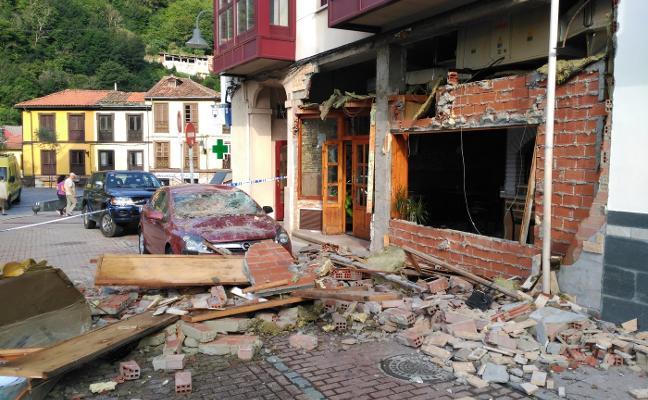 «Al principio pensamos que se había caído uno de los pisos»