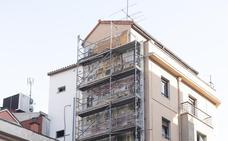 El antiguo mural de 'Clarín' se despide