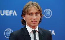 Luka Modric, mejor jugador de la UEFA