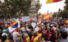 El presidente del Gobierno insta a todas las fuerzas políticas a rebajar la tensión en Cataluña