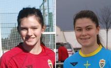 Las asturianas Paula Suárez y María Méndez, citadas por la selección sub 17