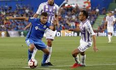 El Valladolid resiste y se lleva un empate de Getafe