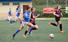 El Real Oviedo Femenino se mantiene líder tras arrollar al Femiastur