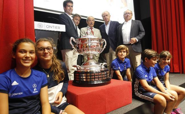 Las promesas del tenis se citan en la Ontier Cup