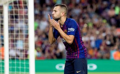 Jordi Alba «No sé por qué no he ido convocado con la selección»
