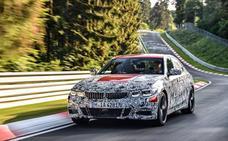 BMW prueba el nuevo Serie 3 en Nürburgring